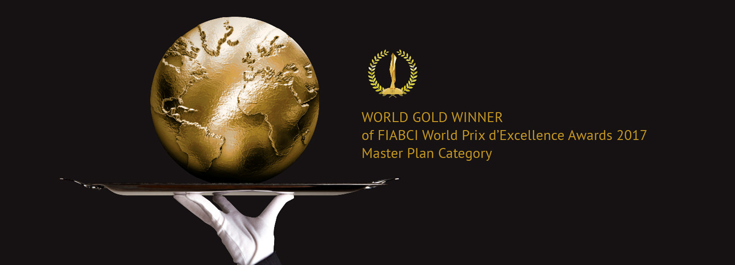 World Gold Winner of FIABCI World Prix d Excellence Awards 2017